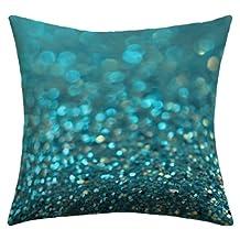 DENY Designs Lisa Argyropoulos Aquios Outdoor Throw Pillow, 16-Inch by 16-Inch