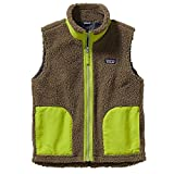 Patagonia Kids Boys Retro-X Vest (Little Big Kids), Ash Tan Medium