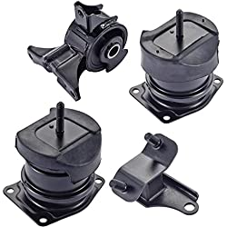 Engine Motor and Rear Trans Mount Set of 4 for 1998-2003 Honda Accord 3.0L Acura TL 3.2L
