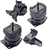 Engine Motor and Rear Trans Mount Set of 4 for Honda Accord 3.0L Acura TL 3.2L