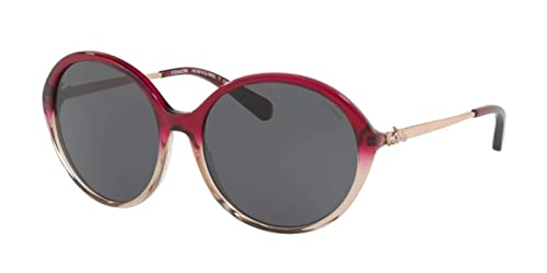 e87919ae8b Image Unavailable. Image not available for. Colour  Coach HC8215 Sunglasses  548980 Denim Taupe Glitter Gradient ...