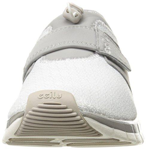 Ccilu Mens Yukon Knit Mode Sneaker Gris