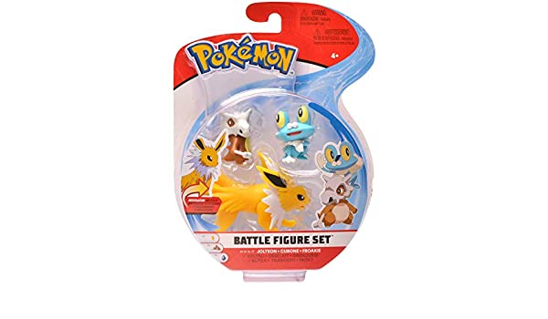 PoKéMoN Figure Battle 3-Pack, Froakie, Cubone & Jolteon, Newest Wave 2020: Amazon.es: Juguetes y juegos