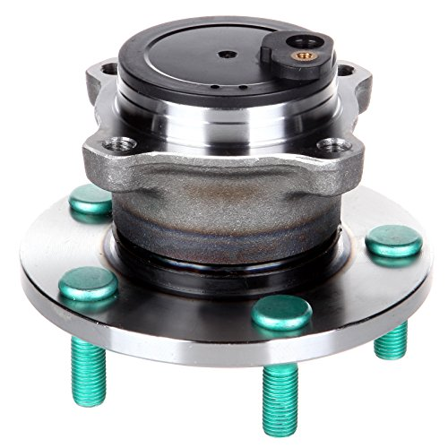 (OCPTY New Wheel Hub Bearings Rear 5 Lugs w/ABS Compatible for Mazda 3 I Mazda 5 GS 2004-2009 with OE 513307 (Pack of 1) )