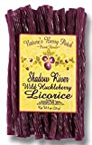 Shadow River Wild Huckleberry Gourmet Licorice Candy 8 oz