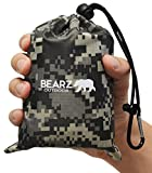 BEARZ Outdoor Beach Blanket/Compact Pocket Blanket 55″x60″ -...
