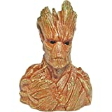 Unique Shape Wooden Groot Bust Guardians of The Galaxy Showpiece
