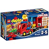Lego 10608 - DUPLO - Jeu de Construction - L'aventure de Spider-man en Camion Araignée