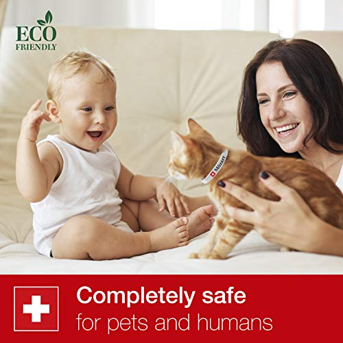 Flea and for Cats Swiss Quality - Safe Eco-Friendly Hypoallergenic Essential Oils Tick Mosquito Prevention - - Flea