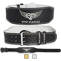 Gym Maniac GM Weight Lifting Waist Gym Belt | Adjustable...