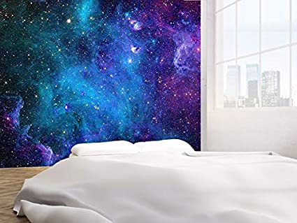 Galaxy Stars Abstract Space Photo Wallpaper Wall Mural 46112002 Space 130gsm Budget Xxl 300cm Wide X 240cm High