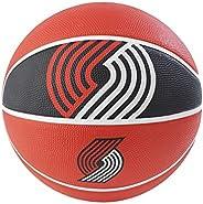 "Spalding NBA Courtside Team 29.5"" Outdoor Rubber Baske"