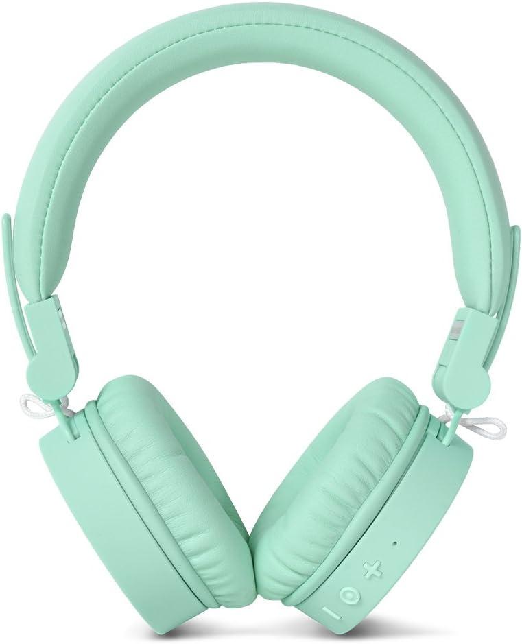 Fresh'n Rebel 156306 - Auriculares inalámbricos, color verde