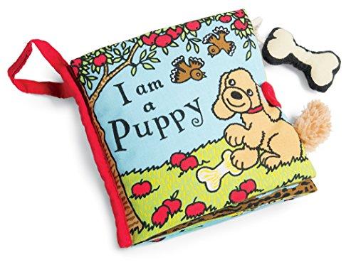 Jellycat Soft Cloth Books, I am a Puppy (Jellycat Tails)
