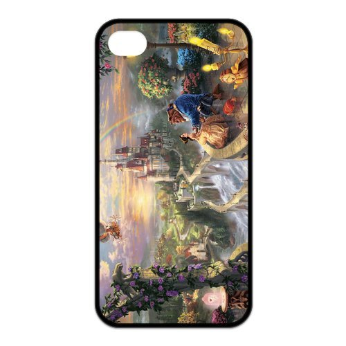 Fayruz- Disney Princess Protective Hard TPU Rubber Cover Case for iPhone 4 / 4S Phone Cases A-i4K21