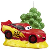 Disney's Cars Cake Topper Candle