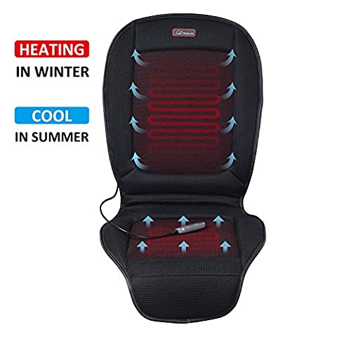 Seat Cushion With 3 Levels Cooling and 2 Levels Heating SL26A8 Cool and Heating Pad for Car Truck Home - Cars Cooling and Heating