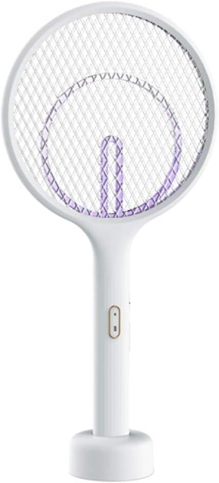 YXCKG Matamoscas Recargable Raqueta de Mosquito, Eléctrico Mosquito Mosca Loco Matamoscas Zapper, Fly Swatter: diseño único de Malla de Seguridad, Seguro para Tocar (Size : STYLE2)