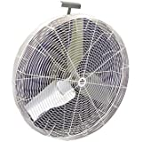 Schaefer Direct Flow Basket Fan - 36in., 230/460 Volts, Model# 36DF-3