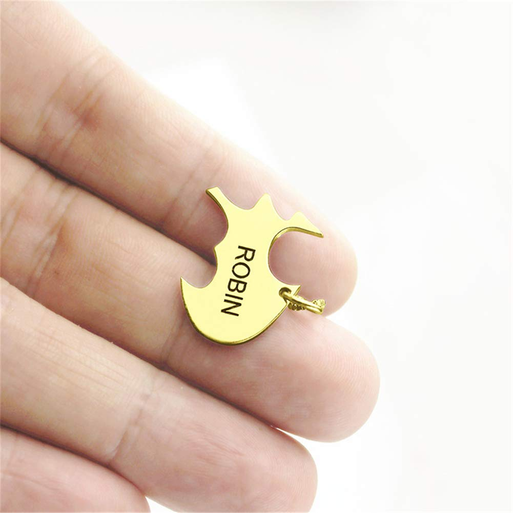SADNESS N Custom Personalized Name Pendant Necklace Birthday Gift Gold Silver Tone-for Mom