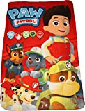 Paw Patrol Red Polar Fleece Blanket By BestTrend®