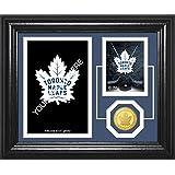 "NHL Toronto Maple Leafs Fan Memories Coin Desktop Photo Mint, Bronze, 22"" x 15"" x 4"""