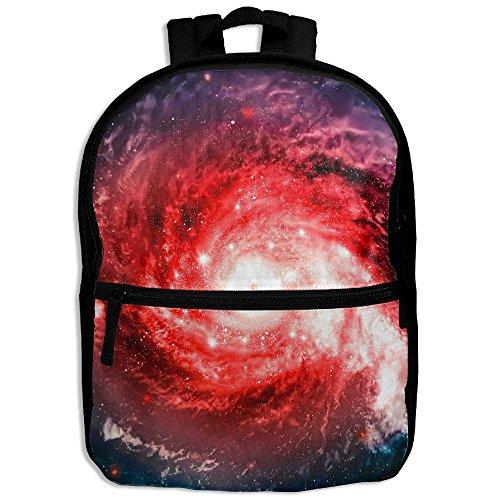 Solar University System Vortex Girls Women School Backpack Portable Shoulders Bags Solar System Ruler