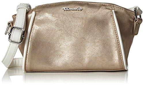 Tamaris Delfina Crossbody Bag, Bolso con Bandolera, Unitalla Dorado (Copper Comb)