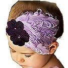 Susenstone®Girls Baby Light Purple Feather Hairband
