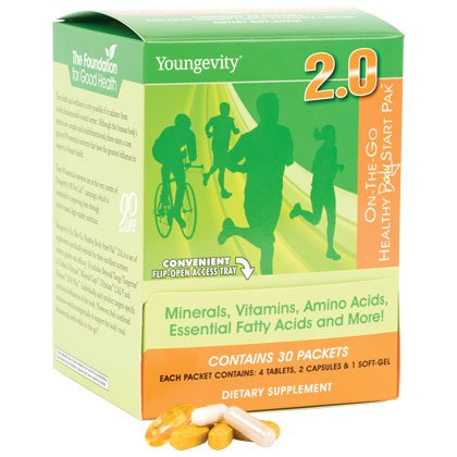 On The Go Vitamin Travel Packets Healthy Body Start Pak 2.0 - 30 packets - 3 Pack by YNG (Image #3)