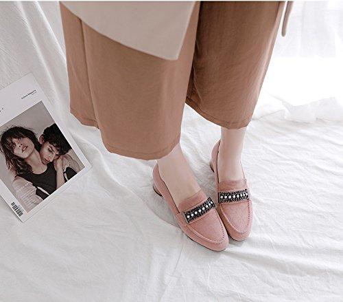 IRANDA Damen Knöchelriemchen Rose