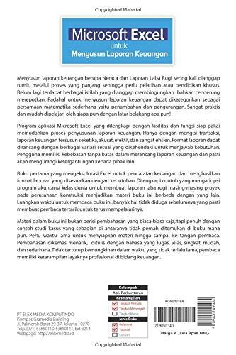 Microsoft Excel Untuk Menyusun Laporan Keuangan Indonesian Edition Arifin Johar 9786020495484 Amazon Com Books