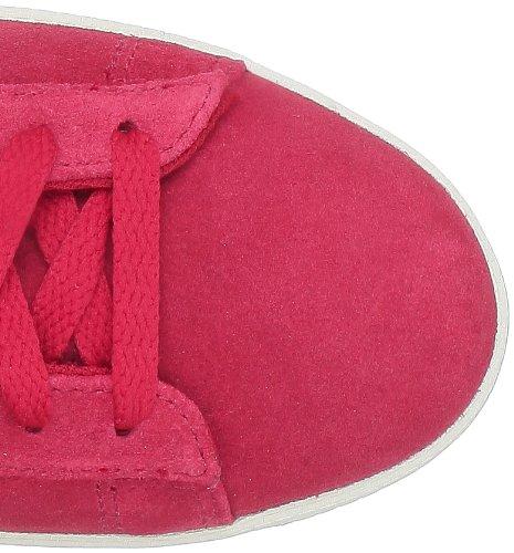 Converse Pro Lea Sue Mid 236160-61-4 - Zapatillas de ante unisex - rosso