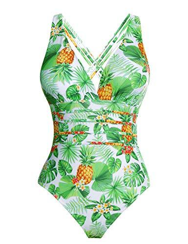 Aibrou-Costume-da-Bagno-Donna-Sexy-Interi-Bikini-Costumi-da-Mare-Spiaggia-Elegante-Monokini-S-XXL