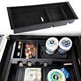 JDMCAR Compatible for Ford F150 2015-2018 Accessories, Original Car Storage Box Combined Version, Center Console Organizer Insert ABS Black Materials Tray
