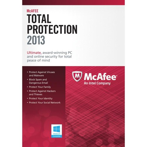 McAfee Total Protection PCs 2013