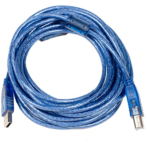 Type Audio Interconnect (Seismic Audio SA-USBAB20, 20' HI-Speed USB Cable, USB 2.0, A to B Type Male USB)