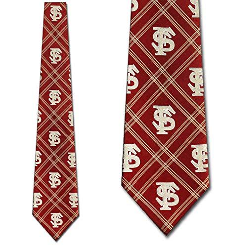 Florida State Woven Poly 2 Necktie