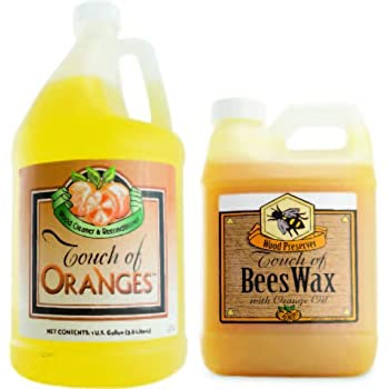 Amazon Com Touch Of Oranges Hardwood Floor Cleaner And