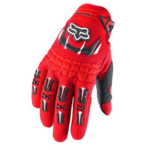 Fox Racing Dirtpaw Men's Off-Road/Dirt Bike Motorcycle Gloves - Color: red, Size: Medium ()