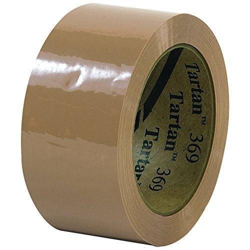 BOX BT902369T 3M Tartan 369 Carton Sealing Tape, 2