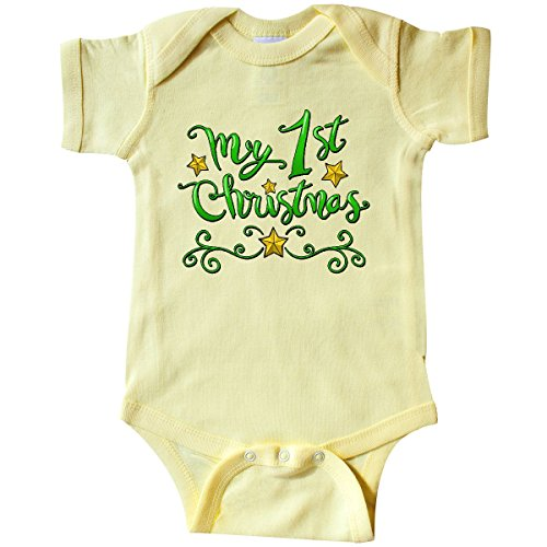 1st Christmas Infant Creeper - inktastic - My First Christmas- Infant Creeper 18 Months Banana Yellow 2dd96