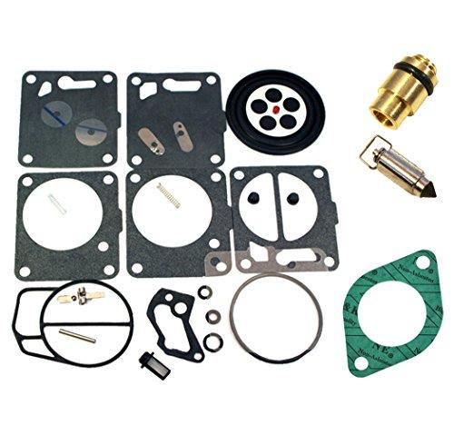 SeaDoo Mikuni Carburetor Rebuild Kit Needle Seat & Carb Gasket Fits 1997-1998 GTI GTS GS -  Venom, Ven-JSP10002