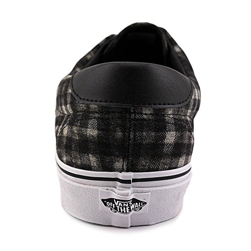 Shoes Unisex Plaid Sneaker Distressed 59 Black casual Era Skate Vans 4qaYpw
