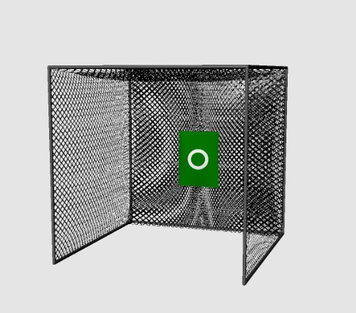 Cimarron 10x10x10 Masters Golf Net Net Only, 10x10x10