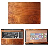 decalrus - Protective Decal Wood Skin Sticker for Dell Inspiron 15 i5570 / 5570 (15.6'' Screen) case Cover wrap DEinspironi5570-155