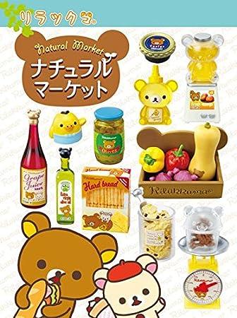 Caja sorpresa miniaturas Rilakkuma Natural Market comidas Re-Ment: Amazon.es: Juguetes y juegos
