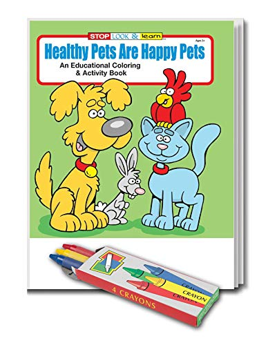 Amazon.com: 25 Pack - Healthy Pets are Happy Pets - Kids Educational ...
