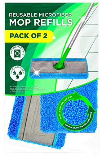 Microfiber Mop Pads Compatible with Swiffer Sweeper