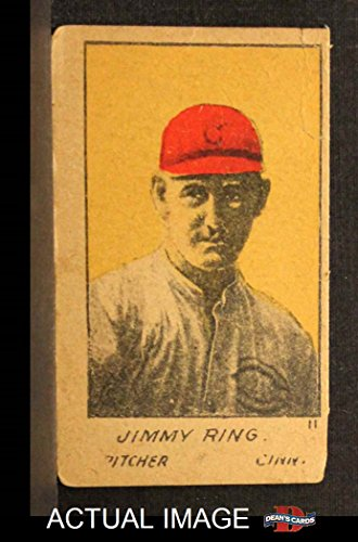 1920 W516-1# 11 Jimmy Ring Cincinnati Reds (Baseball Card) Dean's Cards 2 - GOOD Reds